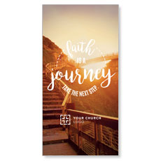 Faith Journey XLarge Postcard