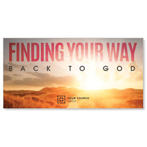 Finding Your Way Church Postcards