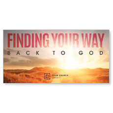 Finding Your Way XLarge Postcard