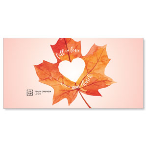 Heart Leaf XLarge Postcards