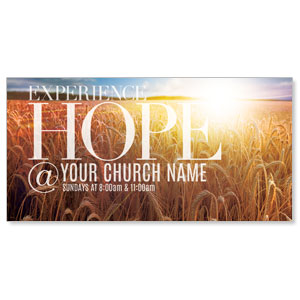Hope Wheat Field XLarge Postcards