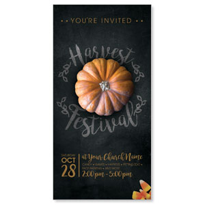 Mini Pumpkin XLarge Postcards