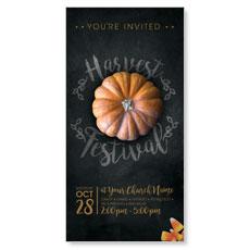 Mini Pumpkin XLarge Postcard