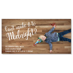 Cant Make It Midnight XLarge Postcards