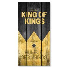 King of Kings Wood XLarge Postcard