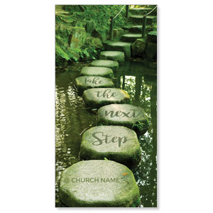 Next Step Green Path XLarge Postcards