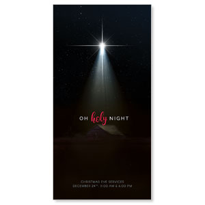 Oh Holy Night XLarge Postcards