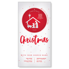 Ornament Cut Out XLarge Postcard