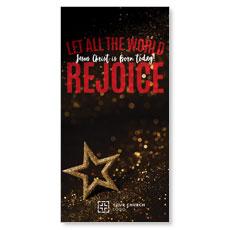 Rejoice Star XLarge Postcard