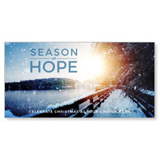Season of Hope XLarge Postcard