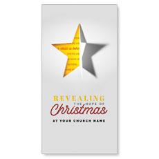 Star Revealing XLarge Postcard