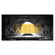 Alive Empty Tomb XLarge Postcard