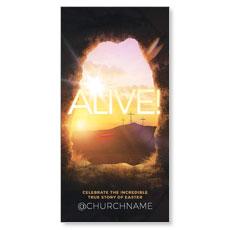 Alive Sunrise Tomb XLarge Postcard