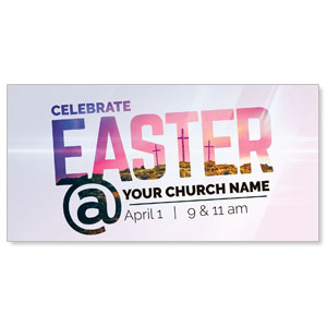 Easter At Calvary XLarge Postcards