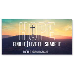 Hope Hill Sunrise XLarge Postcards