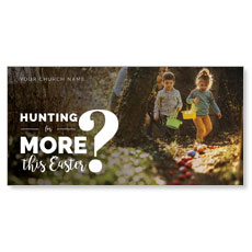Hunting This Easter XLarge Postcard