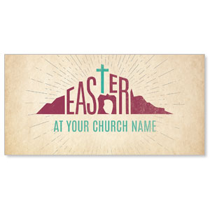 Parchment Easter XLarge Postcards