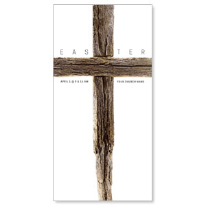 "Rugged Cross 11"" x 5.5"" Oversized Postcards"