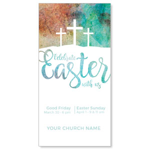 Watercolor Texture Church Postcards