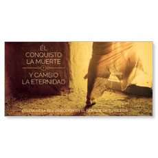 Conquered Death Spanish XLarge Postcard