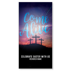 Come Alive Easter General XLarge Postcard