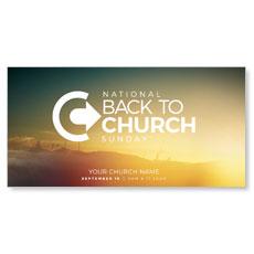 BTCS Logo Sunrise XLarge Postcard