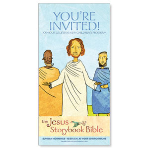 Jesus Storybook Bible XLarge Postcards