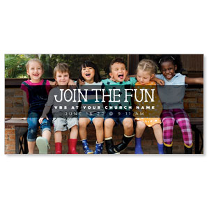 "Kids Join the Fun 11"" x 5.5"" Oversized Postcards"