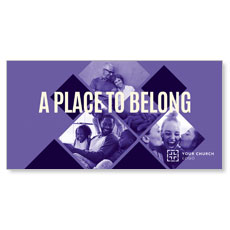 Place Belong Purple