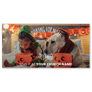 Costume Dog XLarge Postcards