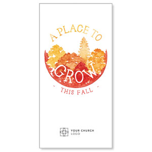 "Place to Grow Fall 11"" x 5.5"" Oversized Postcards"