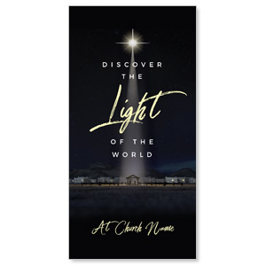 Discover Light of World XLarge Postcards