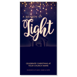 "Season of Light 11"" x 5.5"" Oversized Postcards"