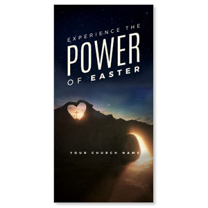 "Power of Easter Tomb 11"" x 5.5"" Oversized Postcards"