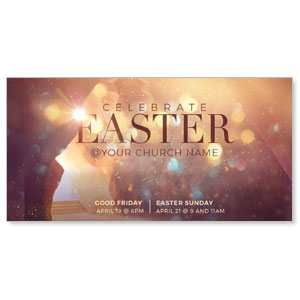 Shimmer Easter Tomb Church Postcards