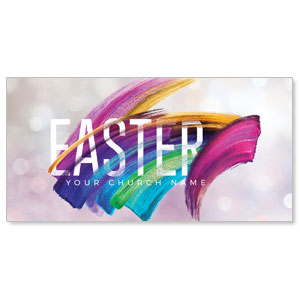 "Shimmer Stroke Easter 11"" x 5.5"" Oversized Postcards"