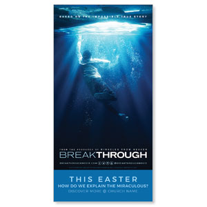 "Breakthrough 11"" x 5.5"" Oversized Postcards"