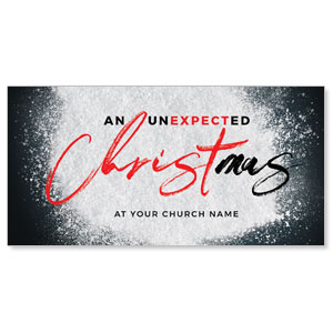 "Unexpected Christmas 11"" x 5.5"" Oversized Postcards"