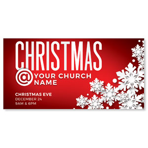 "Christmas At Red 11"" x 5.5"" Oversized Postcards"