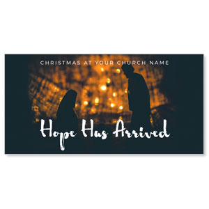 "Hope Has Arrived 11"" x 5.5"" Oversized Postcards"