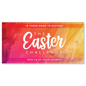 "The Easter Challenge 11"" x 5.5"" Oversized Postcards"