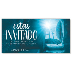 "Blue Tomb Spanish 11"" x 5.5"" Oversized Postcards"