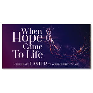 "Hope Came to Life 11"" x 5.5"" Oversized Postcards"
