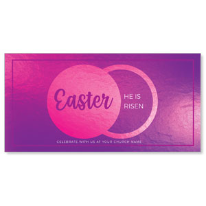 "Icon Pink Tomb 11"" x 5.5"" Oversized Postcards"