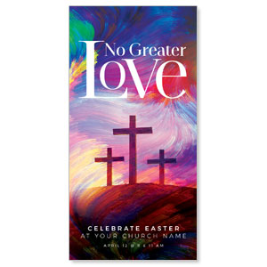 "No Greater Love 11"" x 5.5"" Oversized Postcards"