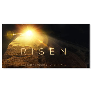 "Risen Light Tomb 11"" x 5.5"" Oversized Postcards"