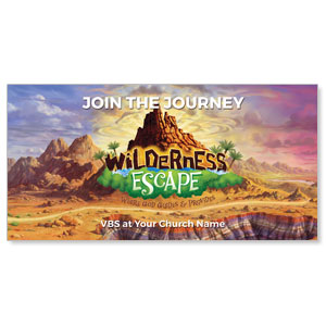 "Wilderness Escape 11"" x 5.5"" Oversized Postcards"