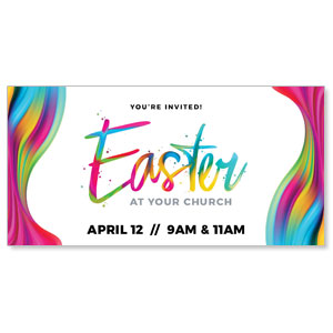 "CMU Easter Invite 2020 11"" x 5.5"" Oversized Postcards"