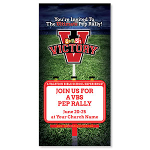 "Go Fish Victory 11"" x 5.5"" Oversized Postcards"