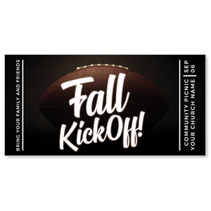 "Kickoff This Fall 11"" x 5.5"" Oversized Postcards"